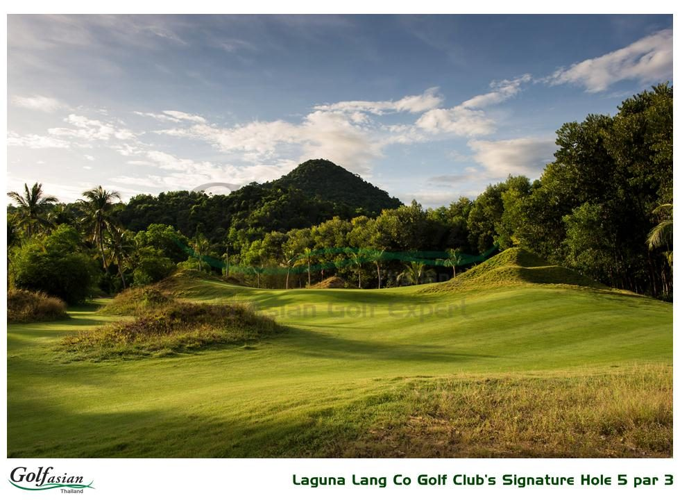 Laguna Lang Co Golf Club Signature Hole
