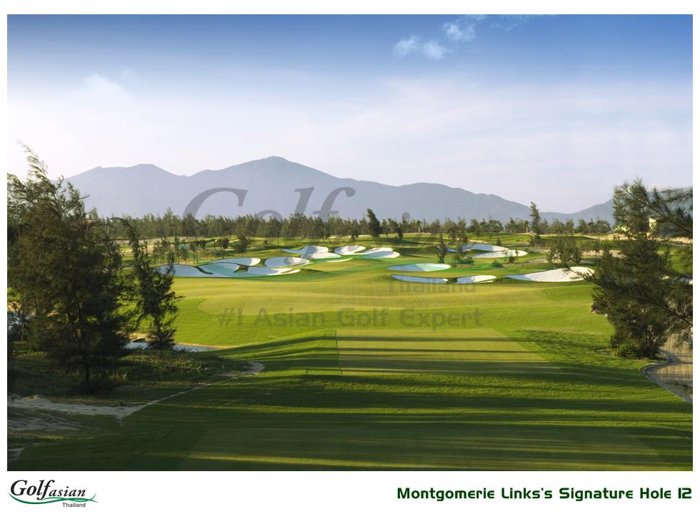 Montgomerie Links Signature Hole